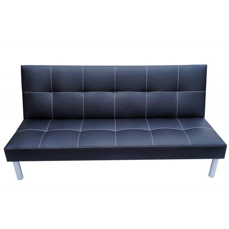 schlafsofa schwarz gratis lieferung. Black Bedroom Furniture Sets. Home Design Ideas