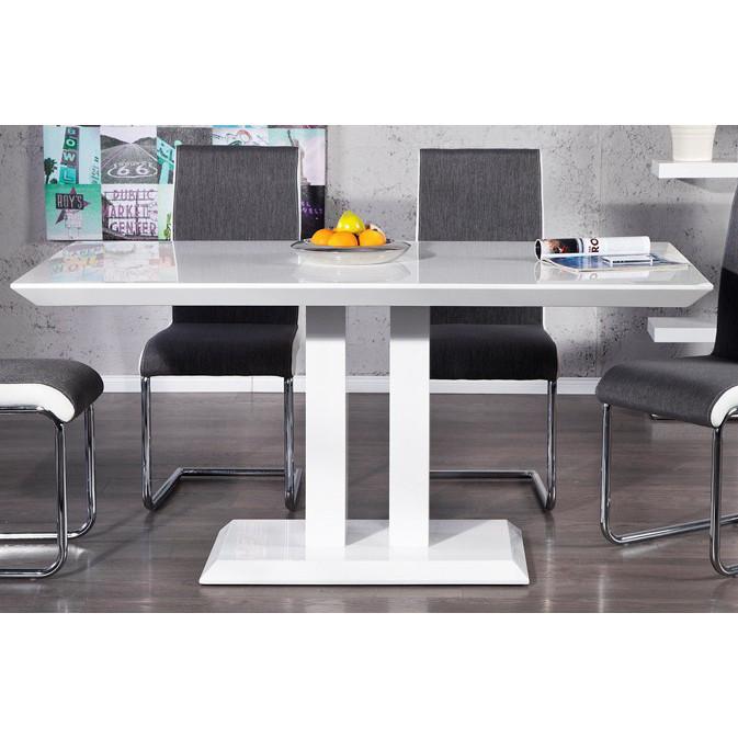 esstisch hochglanz weiss. Black Bedroom Furniture Sets. Home Design Ideas