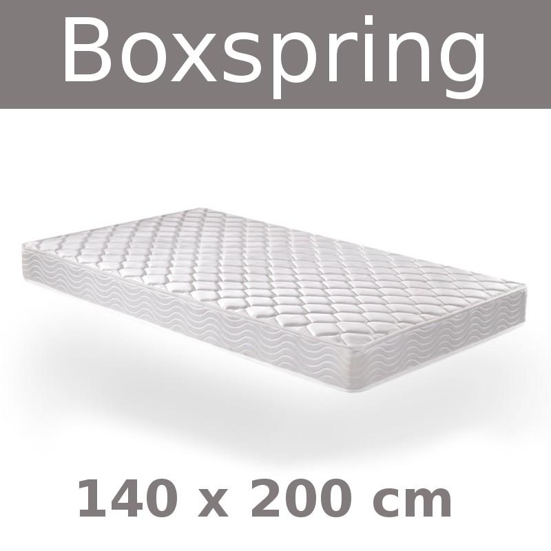 matratze boxspring 140x200 cm. Black Bedroom Furniture Sets. Home Design Ideas