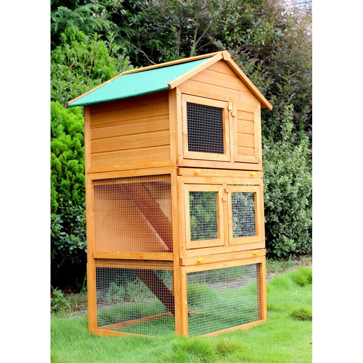 grosser nagerk fig hasenstall gratis lieferung. Black Bedroom Furniture Sets. Home Design Ideas