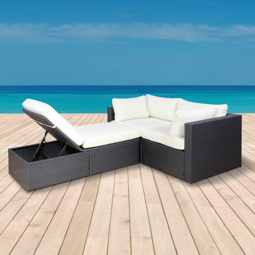 Rattan lounge halbrund  ▷ Inserate für #rattanmöbel