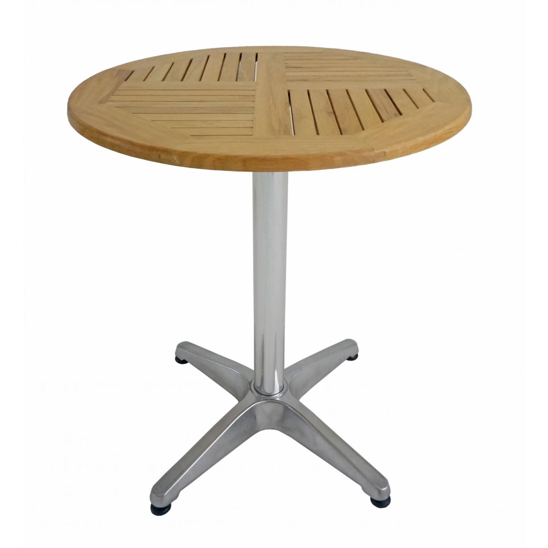 Holz bistrotisch 60 x h70 cm for Bistrotisch holz