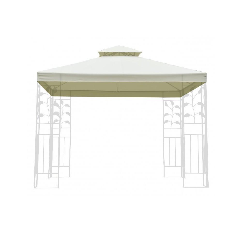 dach f r garten pavillon gazebo 3x3 m. Black Bedroom Furniture Sets. Home Design Ideas