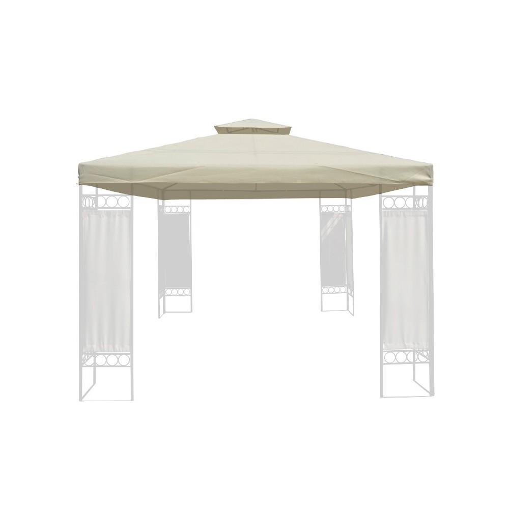 dach f r garten pavillon gazebo 3x4m. Black Bedroom Furniture Sets. Home Design Ideas