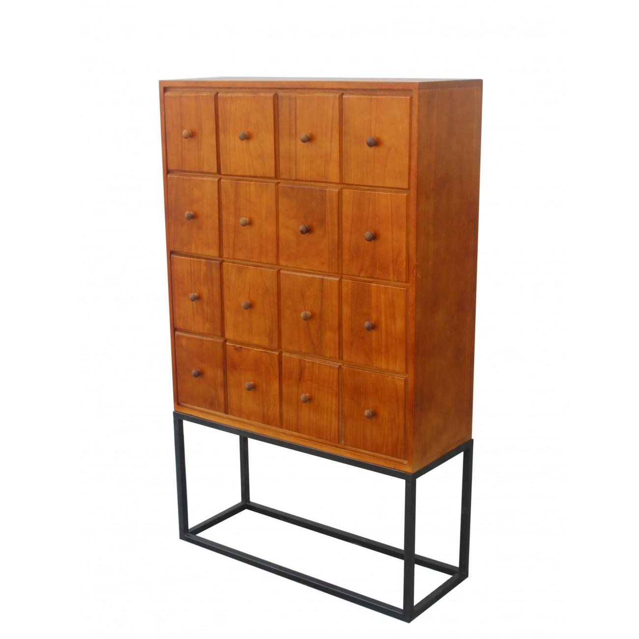 kommode vintage gismund 80 x 30 x 130 cm. Black Bedroom Furniture Sets. Home Design Ideas