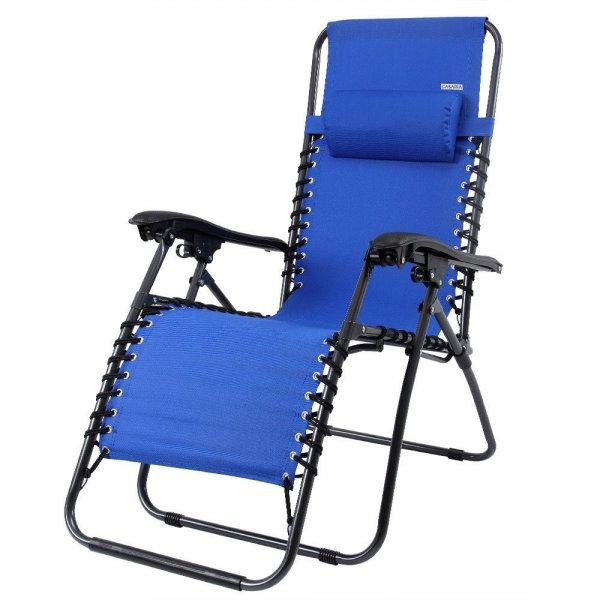 Liegestuhl HOCHLEHNER Stuhl Sessel Farbe Blau