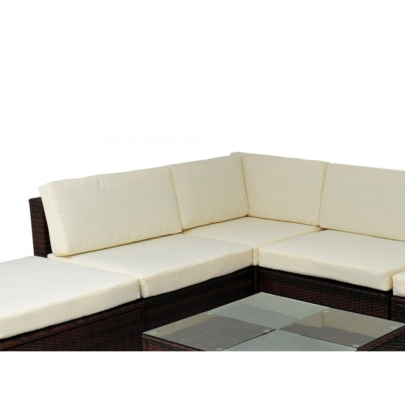 Gartenmöbel Rattan Lounge PALMA