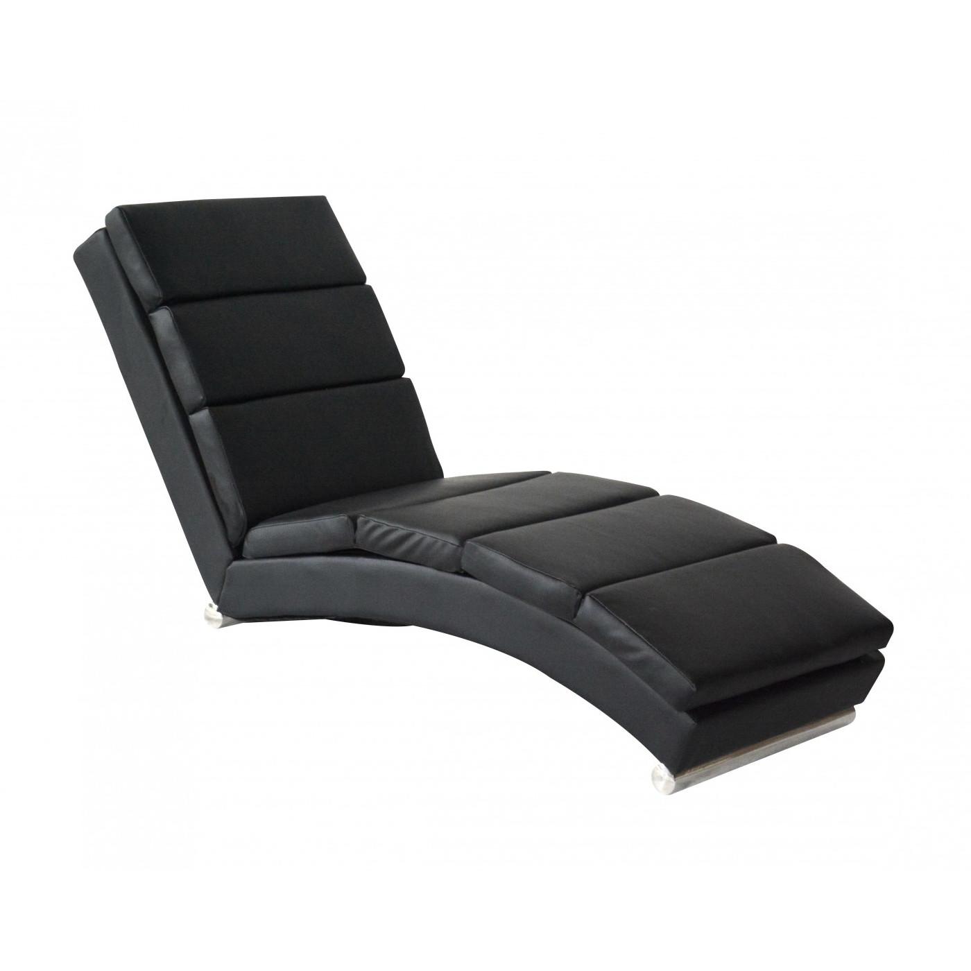 Chaiselounge relaxsessel schwarz for Relaxsessel schwarz