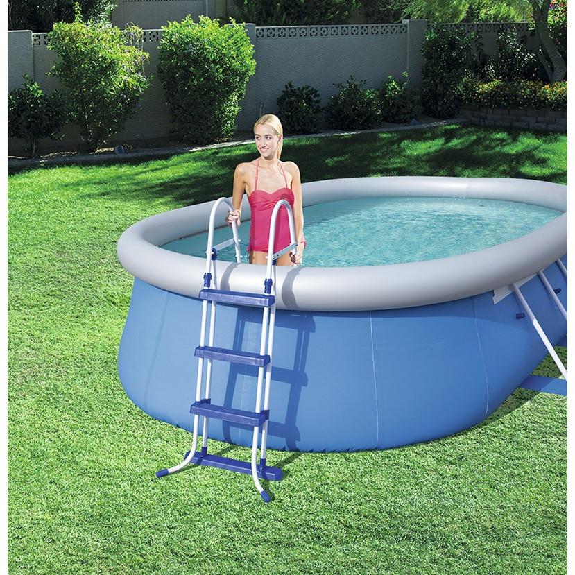 swimming pool komplett set 488 x 305 x 107 cm. Black Bedroom Furniture Sets. Home Design Ideas