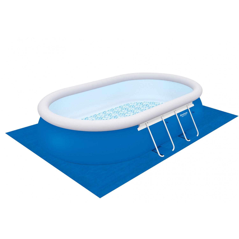 Swimming pool komplett set 488 x 305 x 107 cm for Pool komplett set stahlwand
