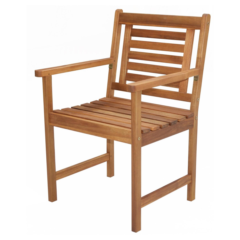Gartentisch Set Akazienholz Mit 4 Stühlen