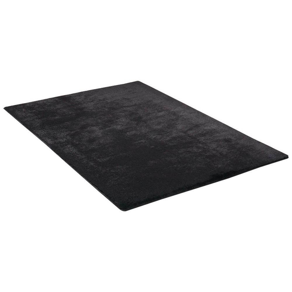 teppich 160 x 230 cm schwarz. Black Bedroom Furniture Sets. Home Design Ideas