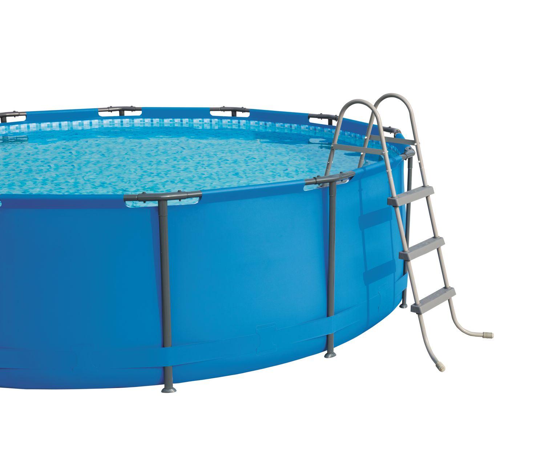 Bestway Swimming Pool Komplett Set 427 X 250 X 100