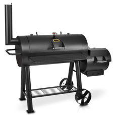 Smoker Holzkohle Grill Sentinel Max Smoke ~ 80kg