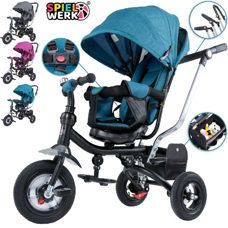 Kinderwagen Dreirad Buggy Multifunktion - Anthrazit
