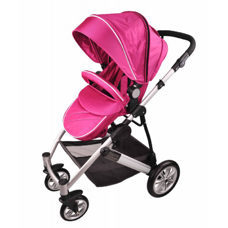 Kinderwagen multifunktional, pink