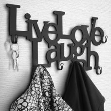 Wandgarderobe Flurgarderobe Live Love Laugh